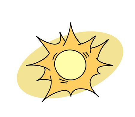 태양 일러스트