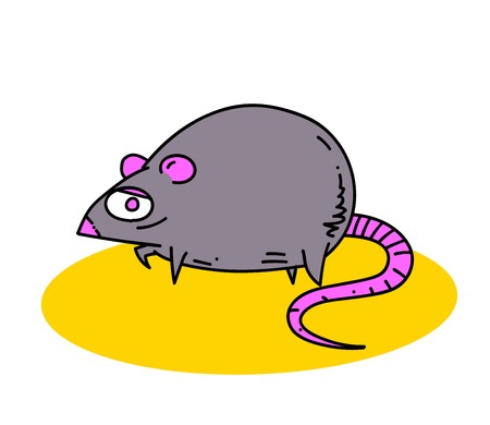 Fat rat Illustration