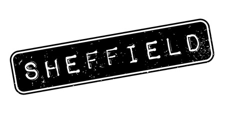 Sheffield rubber stamp. Illustration