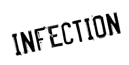 Infection rubber stamp