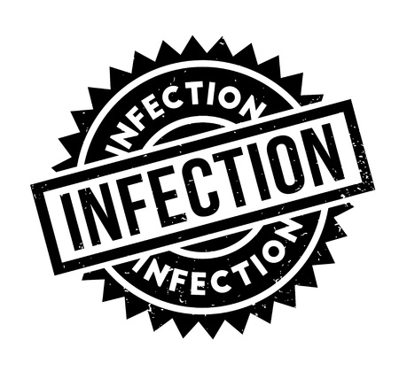 diseased: Infection rubber stamp