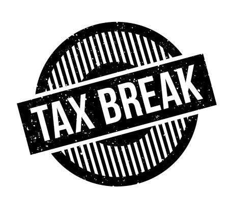 indirect: Tax Break rubber stamp