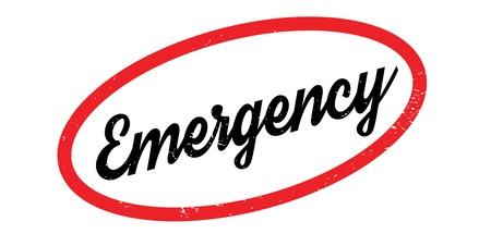 immediate: Emergency rubber stamp. Grunge design with dust scratches. Effects can be easily removed for a clean, crisp look. Color is easily changed. Illustration