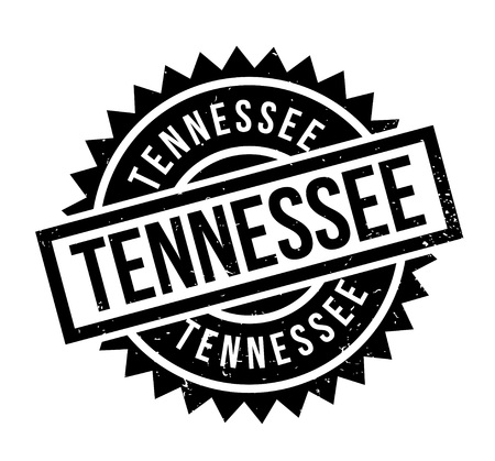 Tennessee rubber stamp. Grunge design with dust scratches. Effects can be easily removed for a clean, crisp look. Color is easily changed.
