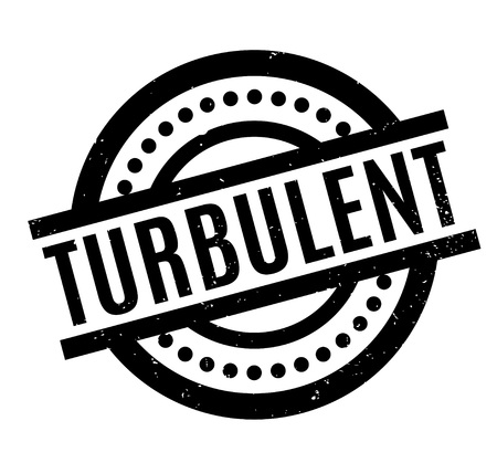 Turbulent rubber stamp. Grunge design with dust scratches. Effects can be easily removed for a clean, crisp look. Color is easily changed.