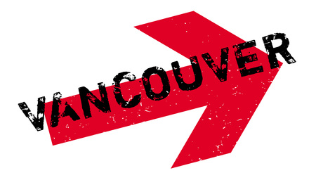 vancouver city: Vancouver rubber stamp. Grunge design with dust scratches. Effects can be easily removed for a clean, crisp look. Color is easily changed. Illustration