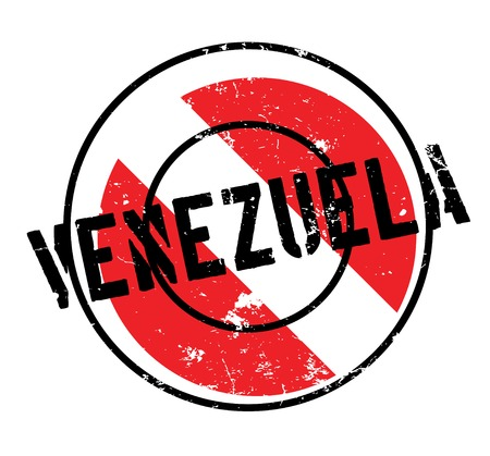 Venezuela rubber stamp. Grunge design with dust scratches. Effects can be easily removed for a clean, crisp look. Color is easily changed. Illustration