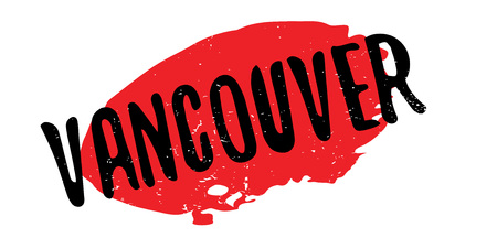 Vancouver rubber stamp. Grunge design with dust scratches. Effects can be easily removed for a clean, crisp look. Color is easily changed. Illustration