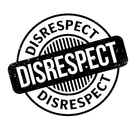desprecio: Disrespect rubber stamp. Grunge design with dust scratches. Effects can be easily removed for a clean, crisp look. Color is easily changed.