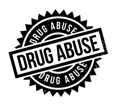 Drug Abuse rubber stamp. Grunge design with dust scratches. Effects can be easily removed for a clean, crisp look. Color is easily changed.