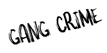 antisocial: Gang Crime rubber stamp. Grunge design with dust scratches. Effects can be easily removed for a clean, crisp look. Color is easily changed.