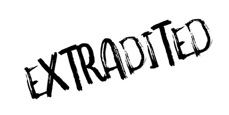 Extradited rubber stamp. Grunge design with dust scratches. Effects can be easily removed for a clean, crisp look. Color is easily changed.