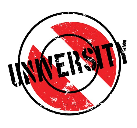 institute: University rubber stamp. Grunge design with dust scratches. Effects can be easily removed for a clean, crisp look. Color is easily changed.