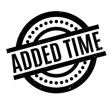 penalty: Added Time rubber stamp. Grunge design with dust scratches. Effects can be easily removed for a clean, crisp look. Color is easily changed.