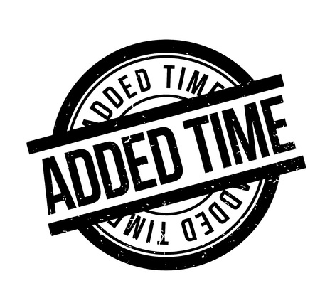 Added Time rubber stamp. Grunge design with dust scratches. Effects can be easily removed for a clean, crisp look. Color is easily changed.