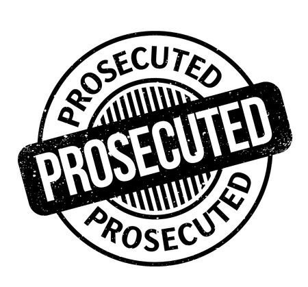 Prosecuted rubber stamp. Grunge design with dust scratches. Effects can be easily removed for a clean, crisp look. Color is easily changed. Stock Vector - 88234082