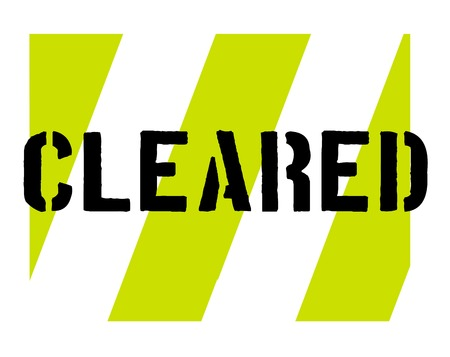 Cleared sticker. Authentic design graphic stamp. Original series