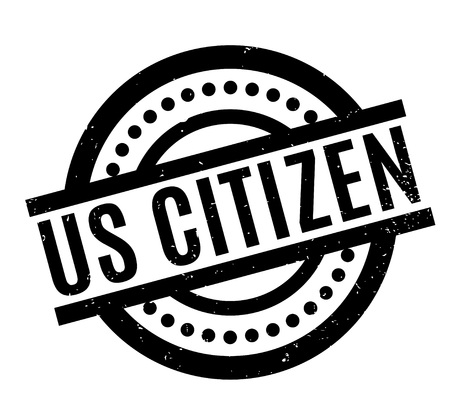 taxpayer: Us Citizen rubber stamp. Grunge design with dust scratches. Effects can be easily removed for a clean, crisp look. Color is easily changed. Illustration