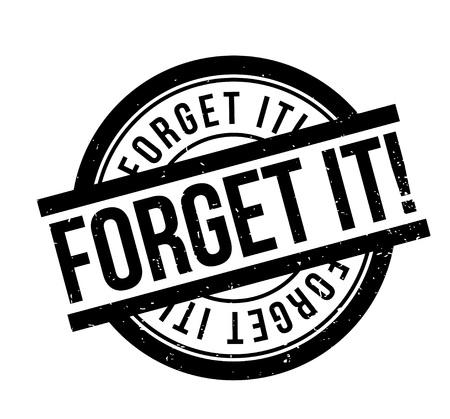 Vergessen Sie es Stempel. Schmutzdesign mit Staubkratzern. Effekte können für einen sauberen, klaren Blick leicht entfernt werden. Die Farbe kann leicht geändert werden.