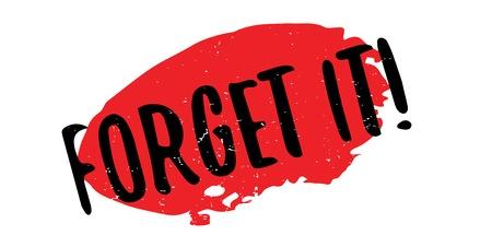 Vergeet het rubberstempel. Grungeontwerp met stofkrassen. Effecten kunnen eenvoudig worden verwijderd voor een schone, heldere look. Kleur is gemakkelijk te veranderen.
