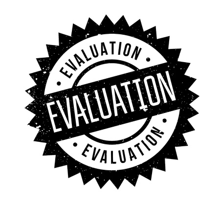 concluded: Evaluation rubber stamp.