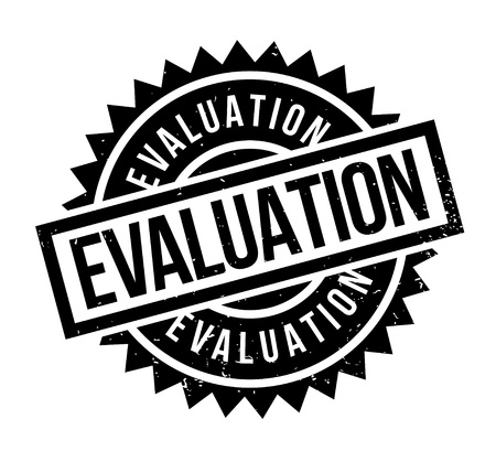 Evaluation rubber stamp.