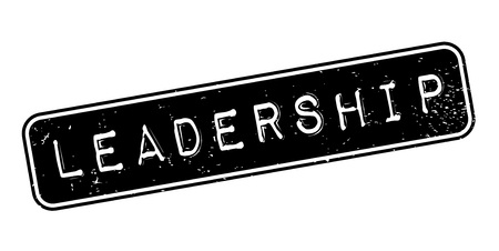 Leadership rubber stamp. Grunge design with dust scratches. Effects can be easily removed for a clean, crisp look. Illustration