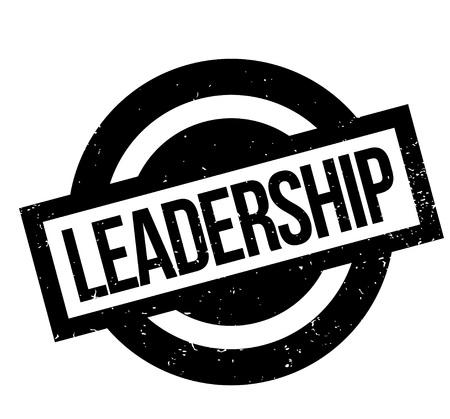 Leadership rubber stamp.