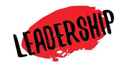 Leadership rubber stamp.
