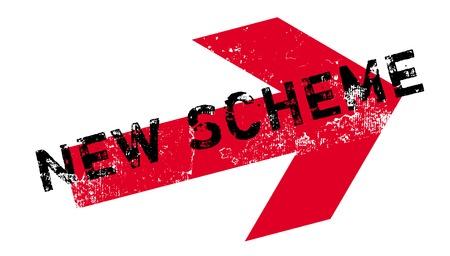 New Scheme rubber stamp.