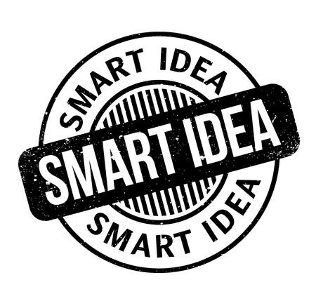Smart idea rubber stamp. Stock fotó - 88283577