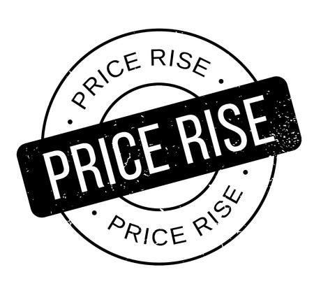 ゴム印の価格は上昇します。ほこり傷とグランジ デザイン。効果は、クリーンでさわやかな一見のために簡単に削除できます。色が簡単に変更され