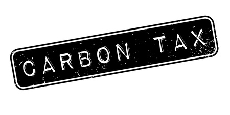 levied: Carbon Tax rubber stamp. Grunge design with dust scratches. Effects can be easily removed for a clean, crisp look. Color is easily changed. Illustration