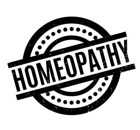 Homeopathy rubber stamp rubber stamp. Grunge design with dust scratches. Effects can be easily removed for a clean, crisp look. Color is easily changed.