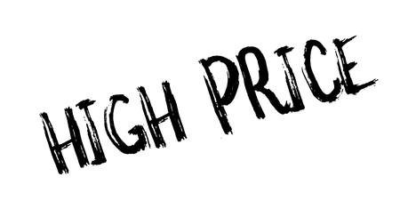 expenditure: High Price rubber stamp. Grunge design with dust scratches. Effects can be easily removed for a clean, crisp look. Color is easily changed.