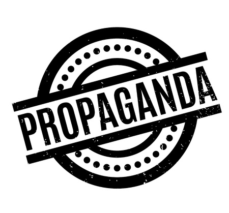 indoctrination: Propaganda rubber stamp. Grunge design with dust scratches. Effects can be easily removed for a clean, crisp look. Color is easily changed.