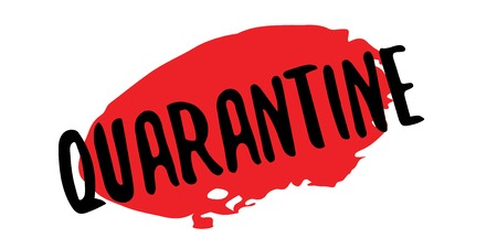 detain: Quarantine rubber stamp. Grunge design with dust scratches. Effects can be easily removed for a clean, crisp look. Color is easily changed.