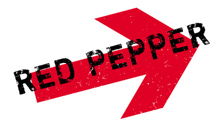 genus: Red Pepper rubber stamp. Grunge design with dust scratches. Effects can be easily removed for a clean, crisp look. Color is easily changed.