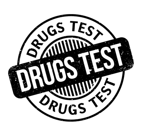 steroid: Drugs Test rubber stamp. Grunge design with dust scratches. Effects can be easily removed for a clean, crisp look. Color is easily changed. Illustration