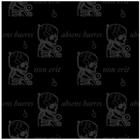 Latin text pattern. Stock Vector - 92051204