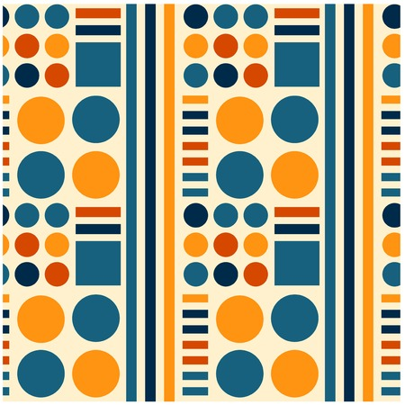 Science fiction technology seamless pattern for web, textile and print. 向量圖像