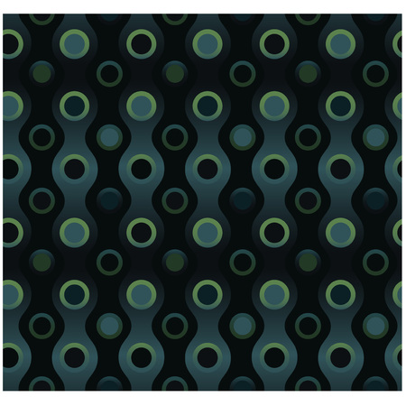 Elegant wavy seamless pattern for web, textile and print.