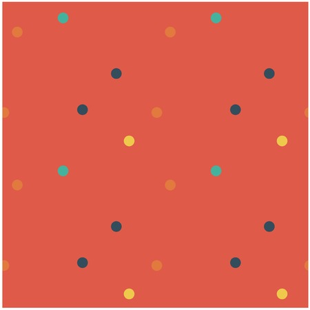 Funny little dots seamless pattern. Design for print, fabric, textile. Seamless wallpaper Illustration
