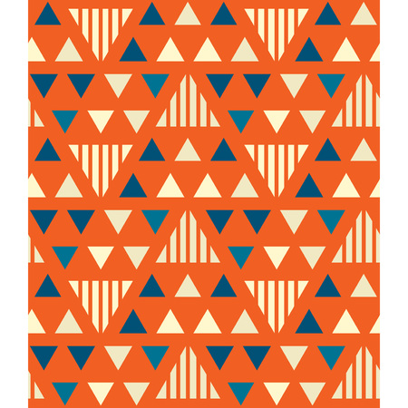 Irregular triangles seamless pattern. For print, fashion design, wrapping wallpaper.