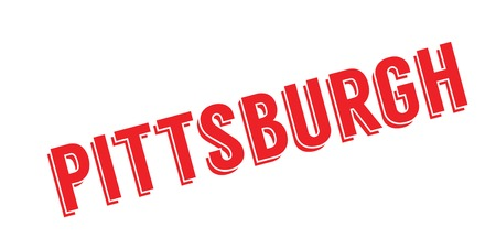 Pittsburgh rubber stamp. Grunge design with dust scratches. Effects can be easily removed for a clean, crisp look. Illustration