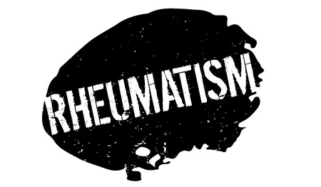 Rheumatism rubber stamp. Grunge design with dust scratches. Vector illustration.