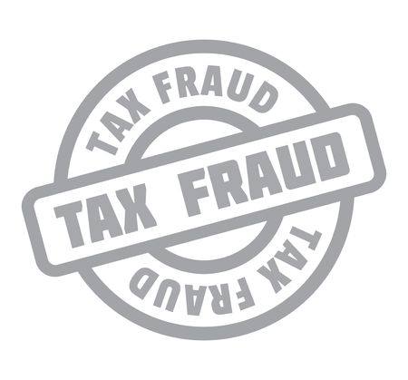 Tax Fraud rubber stamp. Grunge design with dust scratches. Effects can be easily removed for a clean, crisp look. Color is easily changed.