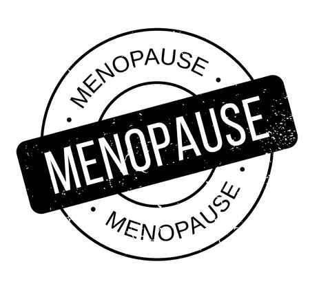 Menopause rubber stamp. Grunge design with dust scratches.