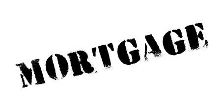 Mortgage rubber stamp. Grunge design with dust scratches. Vector illustration. Illustration