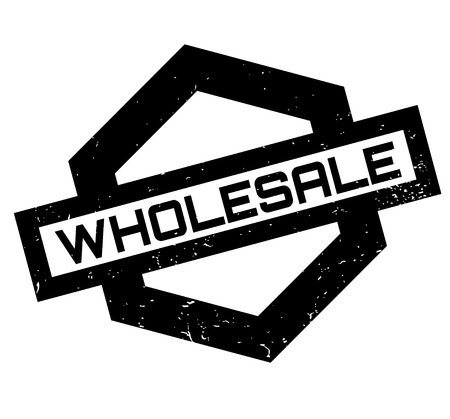 Wholesale rubber stamp. Grunge design with dust scratches. Effects can be easily removed for a clean, crisp look. Color is easily changed. Stock fotó - 95614052
